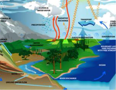 The Carbon, Oxygen, Nitrogen, and Water Cycles - THe Arctic